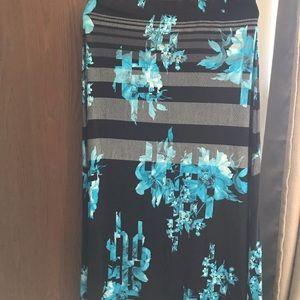 Avenue maxi skirt